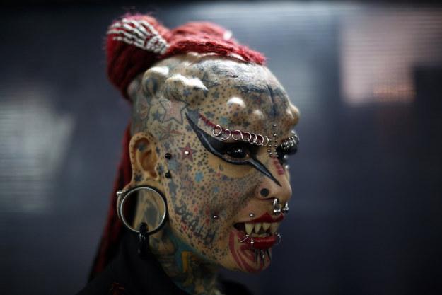 Мария Хосе Кристерна, известная так же под именем «Женщина-Вампир»